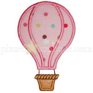 Hot Air Balloon Applique