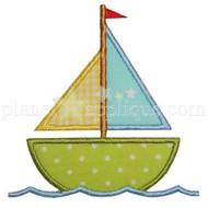 Sailboat Applique