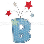 Firecracker Applique Alphabet