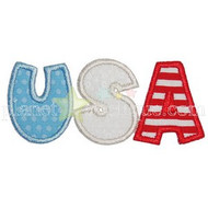 USA Applique