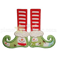 Elf Feet Applique