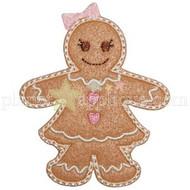Gingerbread Girl Applique