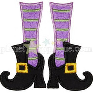 Witch Feet Applique