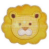 Lion Face Applique