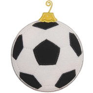 Soccerball Ornament Applique