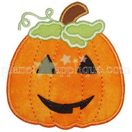 Jack O Lantern Applique