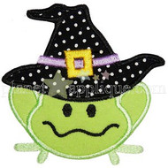 Halloween Frog Applique