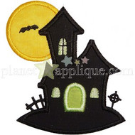 Halloween Scene 2 Applique