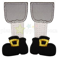 Pilgrim Feet Applique