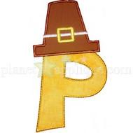 Pilgrim Hat Alphabet
