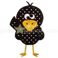 Cute Crow Applique