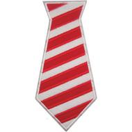 Candycane Tie Applique