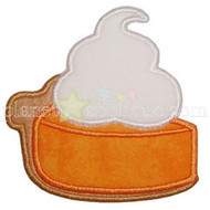 Pumpkin Pie Applique