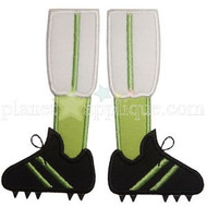 Football Shoes Applique