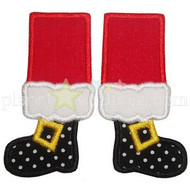 Santa Feet Applique