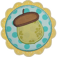 Acorn Patch Applique