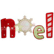 Noel Applique