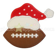 Christmas Football Applique