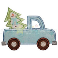 Tree and Truck Applique