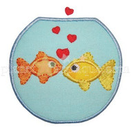 Fishbowl Love Applique