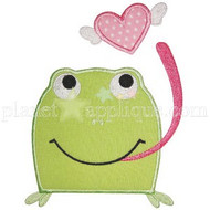 Froggie Love Applique