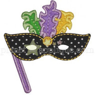 Mardi Mask Applique