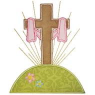 Easter Cross Applique
