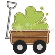 Shamrock Wagon Applique