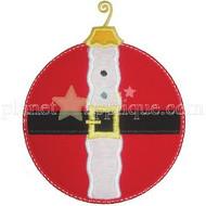Santa Ornament Applique