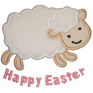 Easter Lamb Applique