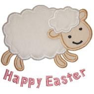Easter Lamb Applique
