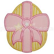 Bow Egg Applique