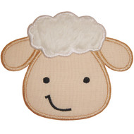 Lamb Face Applique