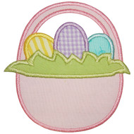 Easter Basket applique