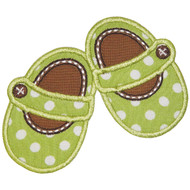 Mary Jane Shoes Applique