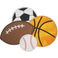 Sportsballs Applique