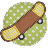 SkateBoard Applique