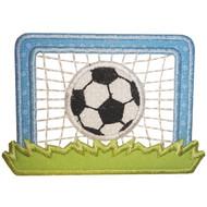 Soccer Goal Applique