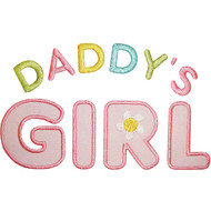 Daddys Girl Applique