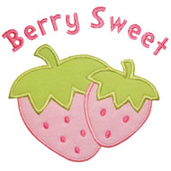 Berry Sweet Applique