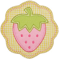 Strawberry Patch Applique
