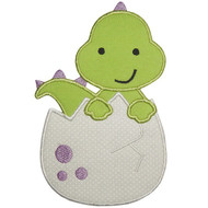 Dinosaur Egg Applique