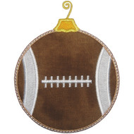 Football Ornament Applique