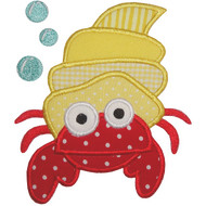Hermit Crab Applique