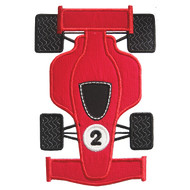 Indy Car Applique