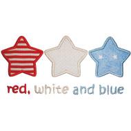 3 Stars Applique