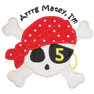 Pirate Birthday Set