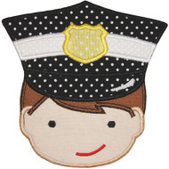 Policeman Applique