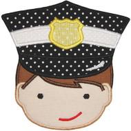 Policeman Applique