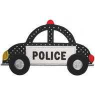 Police Car Applique